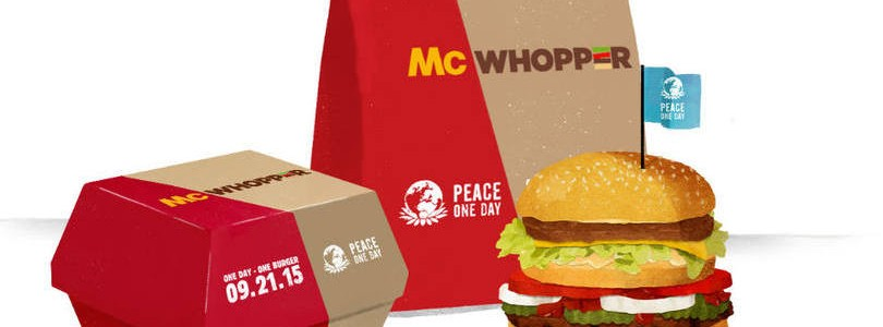 McWhopper McDonalds Burguer King